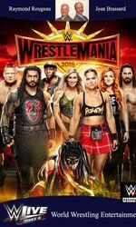 WWE WrestleMania 35en streaming