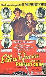 Ellery Queen and the Perfect Crimeen streaming