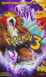 Pokémon 3 : Le Sort des Zarbien streaming