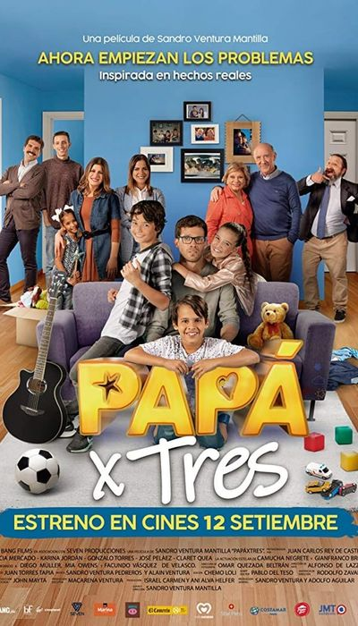 Papá X Tres movie
