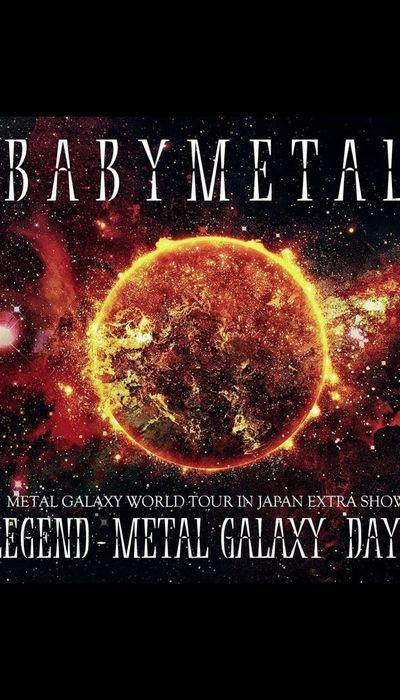 BABYMETAL - LEGEND - METAL GALAXY (Day 1) WOWOW movie