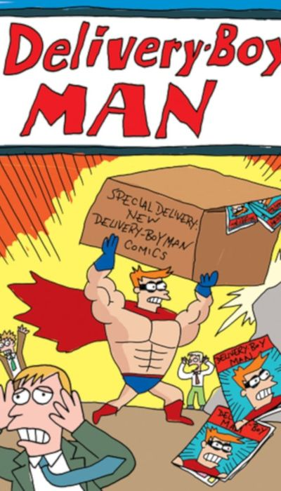 The Adventures of Delivery-Boy Man movie