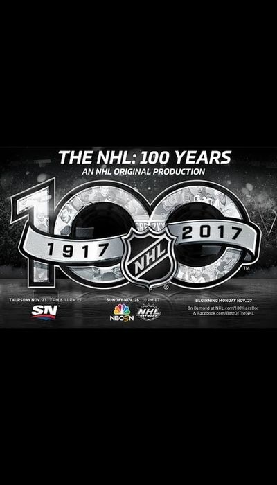 The NHL: 100 Years movie
