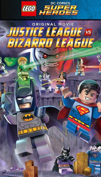 LEGO DC Comics Super Heroes: Justice League vs. Bizarro League movie