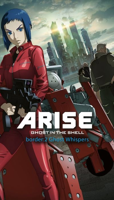 Ghost in the Shell Arise - Border 2: Ghost Whispers movie