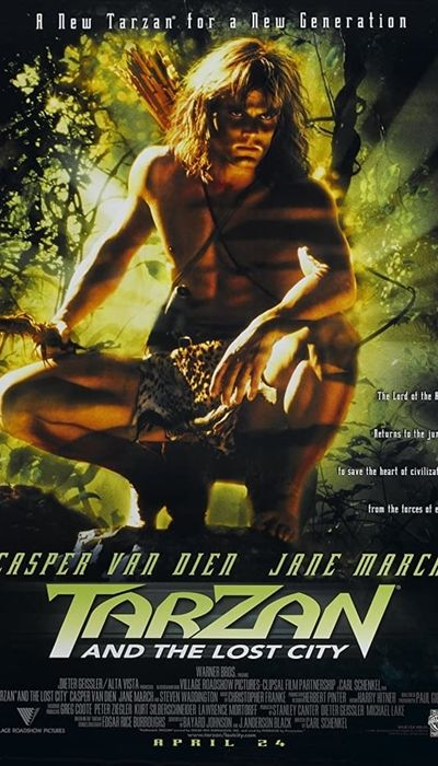 Tarzan and the Lost City movie