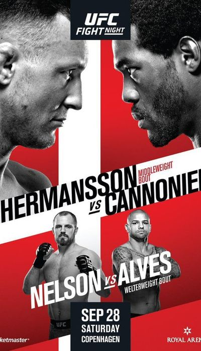 UFC Fight Night 160: Hermansson vs. Cannonier movie