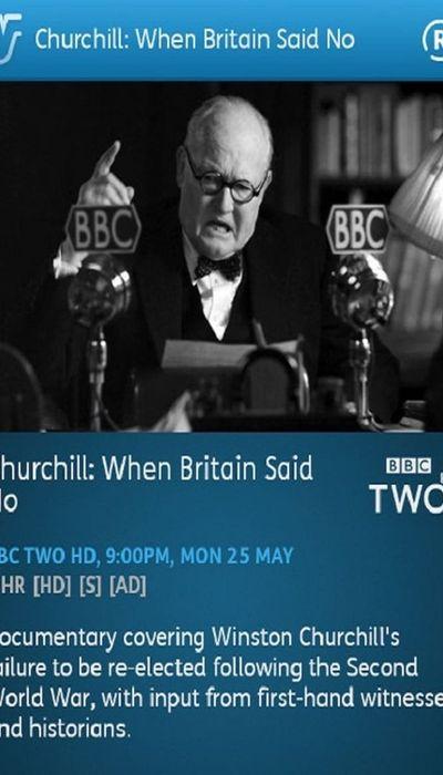 Churchill: When Britain Said No movie