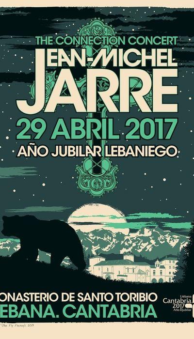 Jean-Michel Jarre - The Connection Concert Santo Toribio de Liebana, Spain 2017 movie