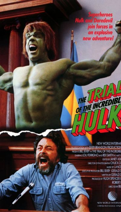 The Trial of the Incredible Hulk movie