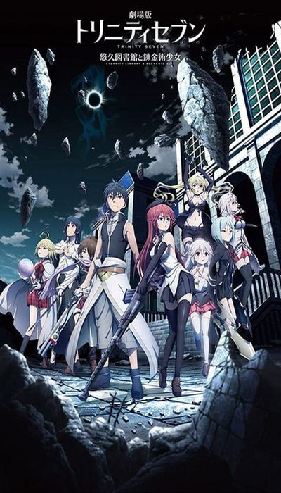 Trinity Seven: Eternity Library & Alchemic Girl movie