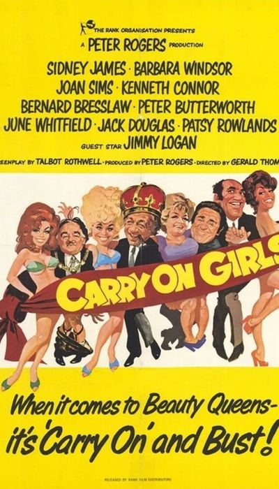 Carry On Girls movie