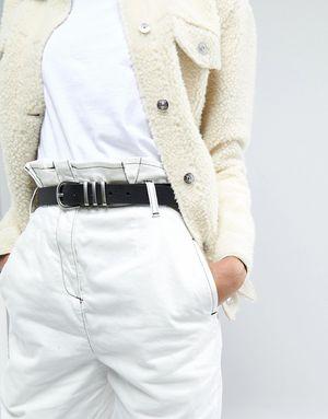 Pieces Waist Jeans Belt - Black