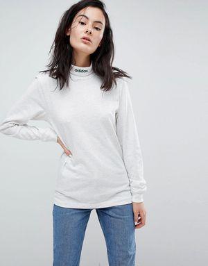 adidas Skateboarding Long Sleeve High Neck T-Shirt - Multi