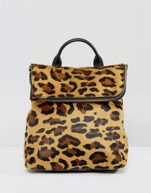 Whistles Leopard Mini Backpack - Multi
