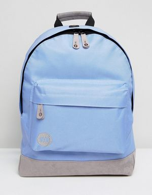 Mi-Pac Classic Backpack in Cornflower Blue With Contrast Grey - Blue