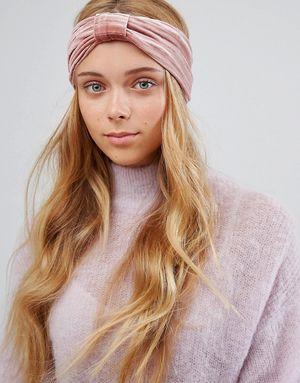 ALDO Blush Pleated Bow Headband - Pink