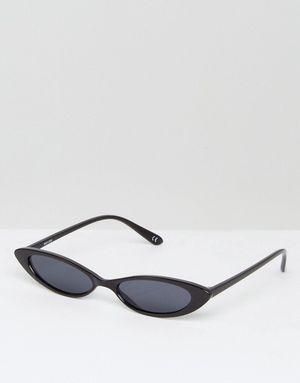 ASOS Small Cat Eye Fashion Glasses - Black