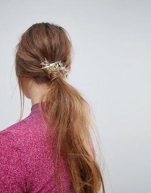 Limited Edition Starstruck Hair Barette Clip - Gold