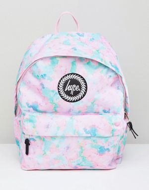 Hype Mint Sponge Backpack - Pink