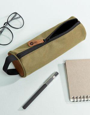 Mi-Pac Classic Pencil Case In Khaki - Green