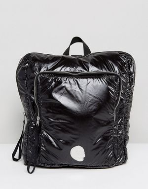 Cheap Monday Patent Backpack - Black