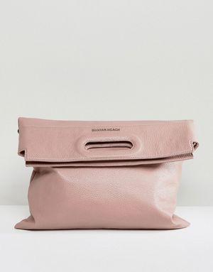 Silvian Heach Slouch Over Across Body Bag - Pink