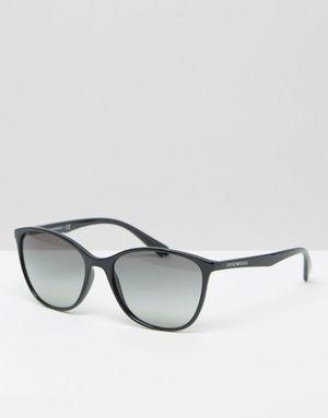Emporio Armani Cat Eye Sunglasses in Black - Black