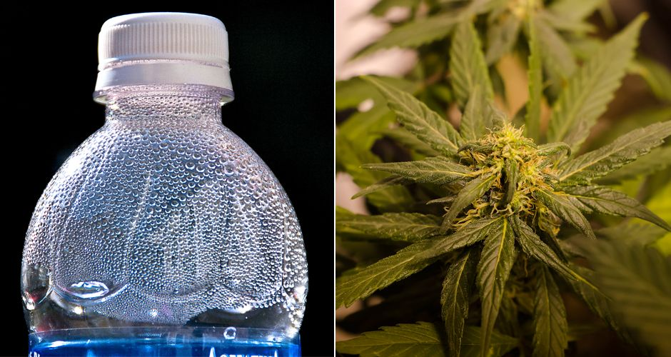 Weed-Infused Water Is Here to Help You Get Swole