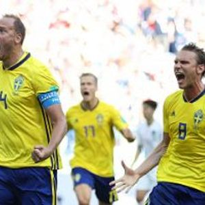 Sweden 1:0 South Korea
