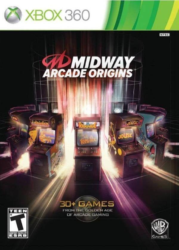 Midway Arcade Origins (2012) Region Free Xbox 360