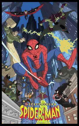 The Spectacular Spider-Man ספיידרמן כל העונות[ עונות] כל הפרקים מגה וידאו.