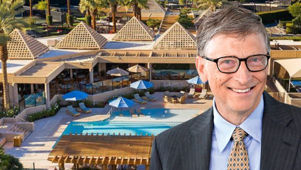 Bill Gates versteckt sich in Golfclub für Milliardäre