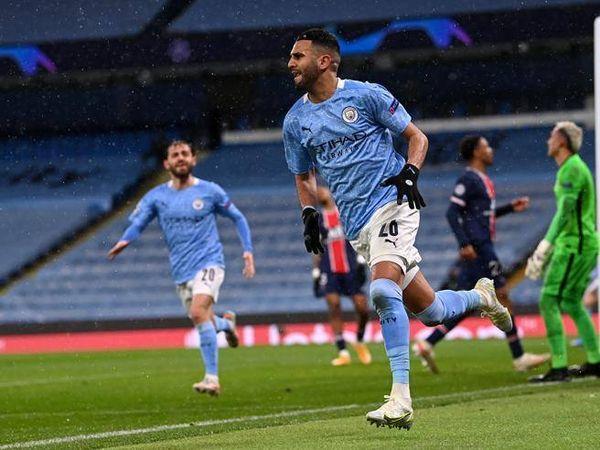 Manchester City-Psg 2-0: Mahrez abbatte i francesi, Guardiola in finale di Champions