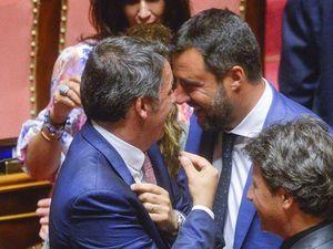 Salvini e Renzi: sì alla giustizia, no al reddito (e una gestualità simile). L'unione di fatto dei 2 Matteo
