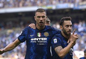 Inter-Genoa 4-0: Skriniar e Calha la chiudono con 2 gol in 14', poi a segno anche Vidal e Dzeko