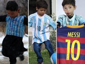Afghanistan, il bambino con la maglia di Messi chiede aiuto a Leo per fuggire