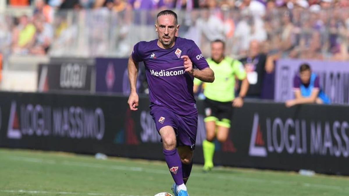 Fiorentina Franck Ribery recuperato per finale stagione