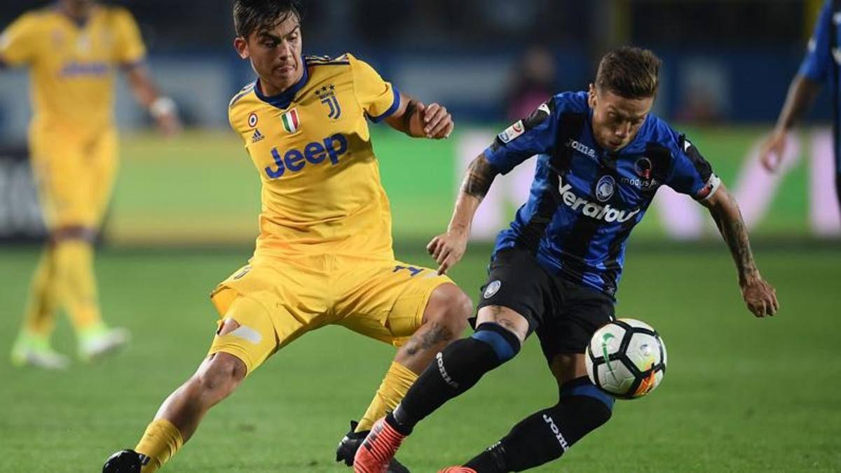 Dybala contro Gomez Juve