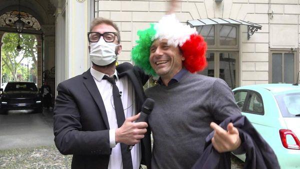 Conte tricolore: Spero che Mou faccia bene, ma non contro l'Inter