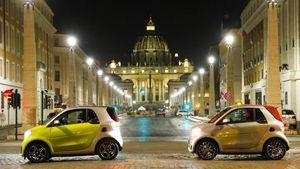 Smart Eq: la citycar elettrica incontra la grande bellezza di Roma