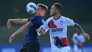 L'Inter dilaga sul Crotone: 6 gol, il marchio di Calhanoglu, il ritorno di Lukaku