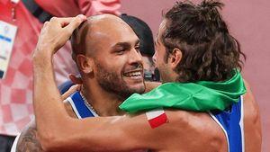 Il più veloce e il più alto: l'abbraccio che ha riscritto lo sport italiano