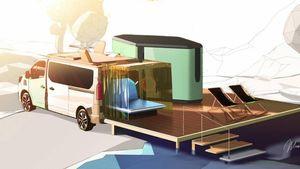 Hippie Caviar Hotel: Renault lancia il camper 5 stelle