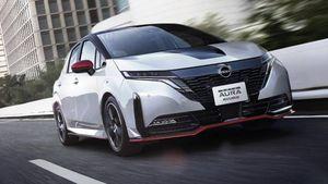 """Nissan Aura Nismo, la compatta """"pepata"""" per il Giappone"""