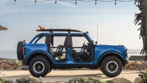 Ford Bronco Riptide Concept 2021, la one-off per andare in spiaggia con stile