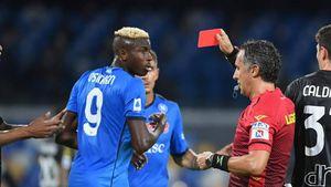 Il gol cancellato a CR7, i rossi a Osimhen e Dragowski: quanto materiale da moviola