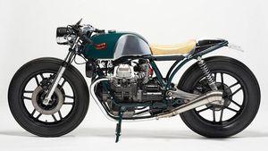 "Deus Beretta: la special ""made in Japan"" che celebra i 100 anni di Moto Guzzi"