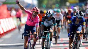 Vuelta, Cort Nielsen fa tris, Bagioli 4°. Roglic sempre leader
