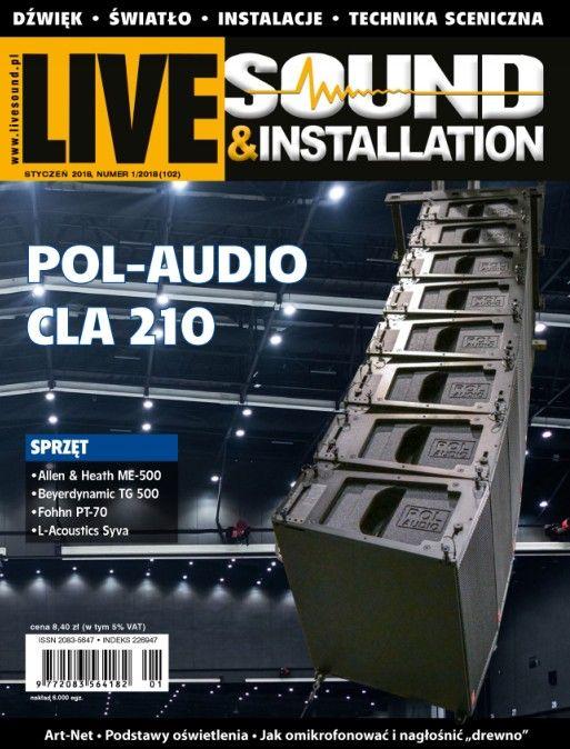 Live Sound Installation Polska 1/2018